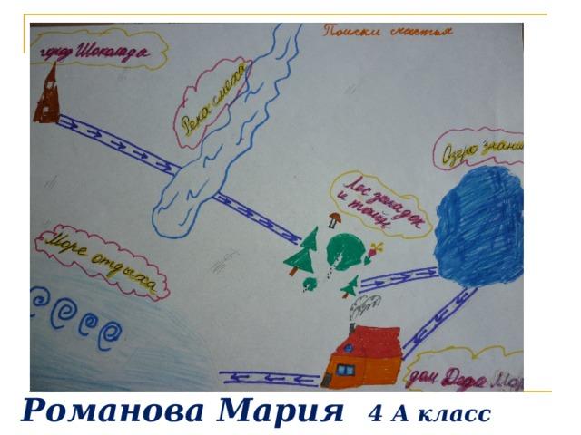 Романова Мария 4 А класс