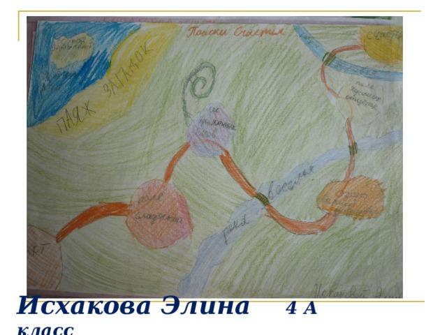 Исхакова Элина 4 А класс
