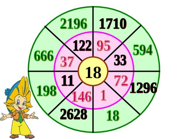 18 Определить закономерность образования чисел и заполнить пустые места. 26