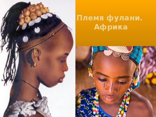 Племя фулани.  Африка