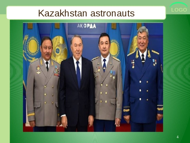 Kazakhstan astronauts