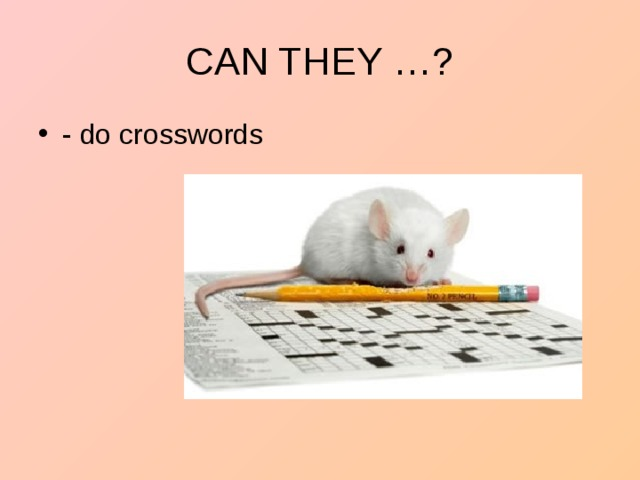 - do crosswords