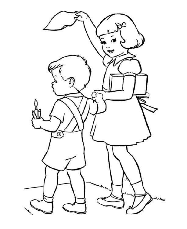 Прощание картинки для детей