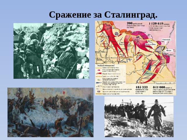 Сражение за Сталинград.