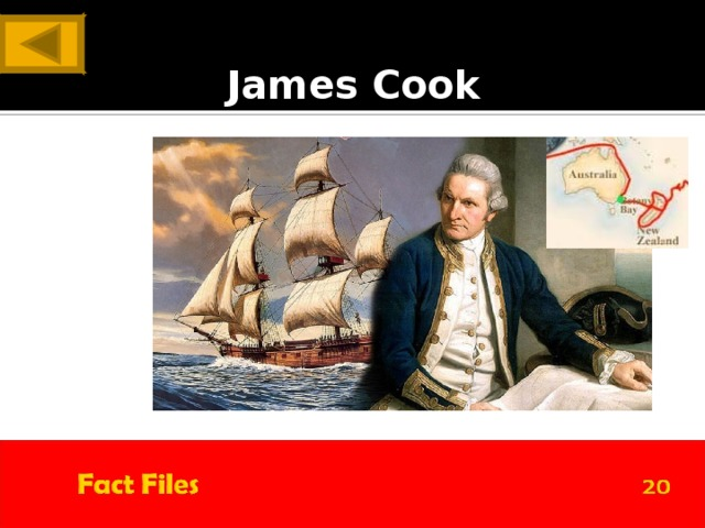 ANSWER James Cook