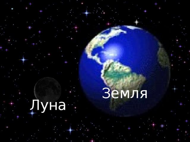 Земля Луна
