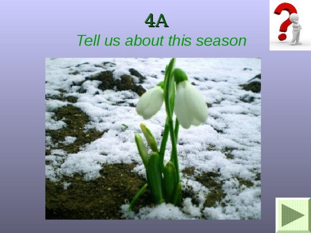 4A Tell us about this season