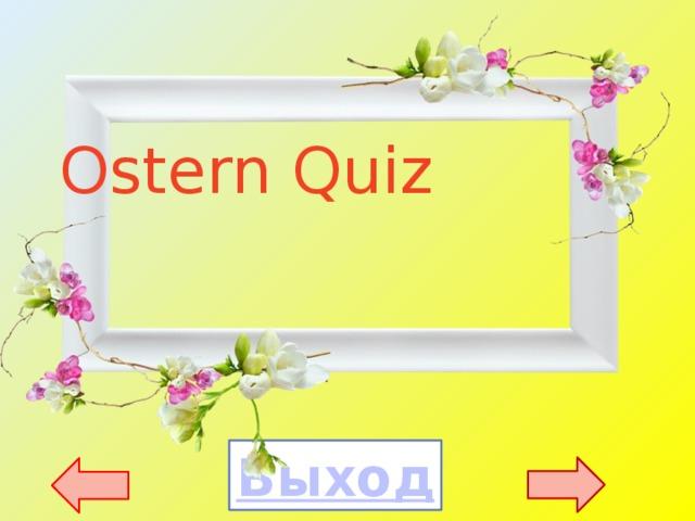 Ostern Quiz