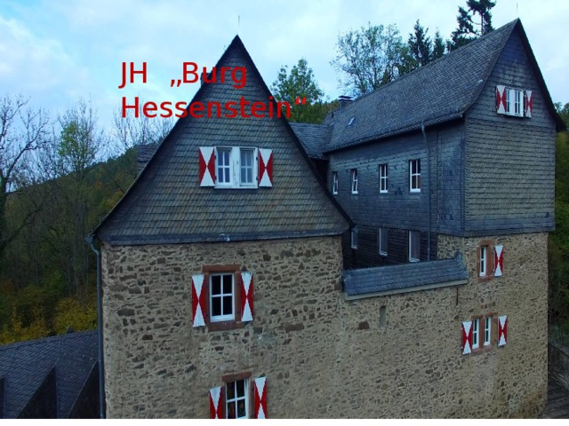 "Вставка рисунка JH ""Burg Hessenstein """