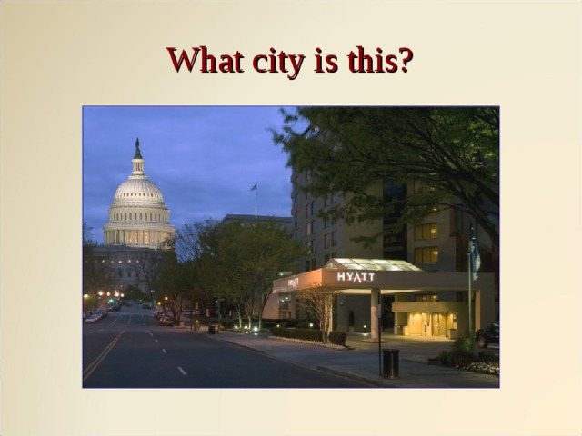 What city is this?