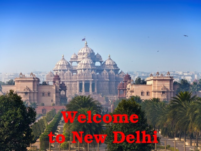 Welcome  to New Delhi