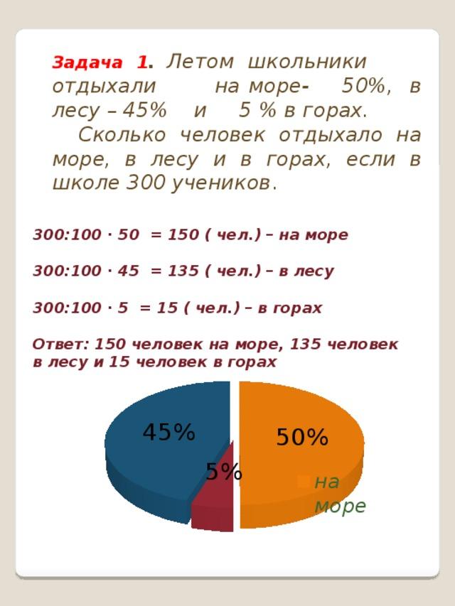 Круговые диаграммы 6 класс решение задач ответы решение к задачам по бжд