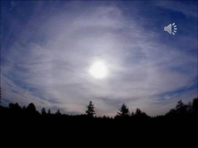 В яркую лунную ночь можно увидеть радугу от Луны.