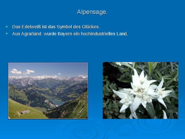 Alpensage.