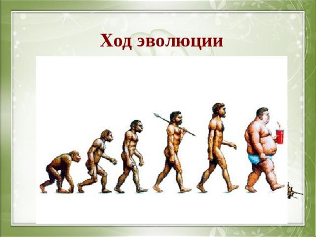 Ход эволюции