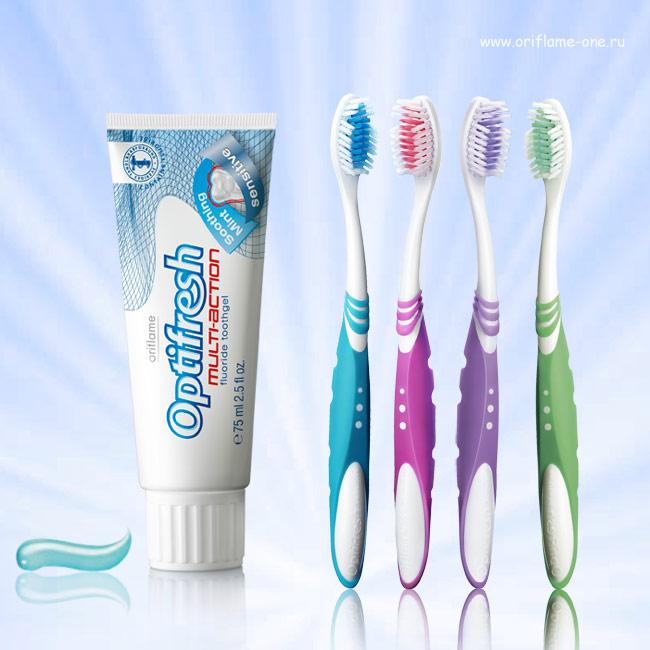 Картинка зубная паста и щетка