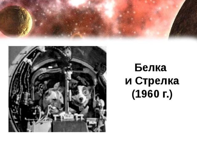 Белка  и Стрелка  (1960 г.)