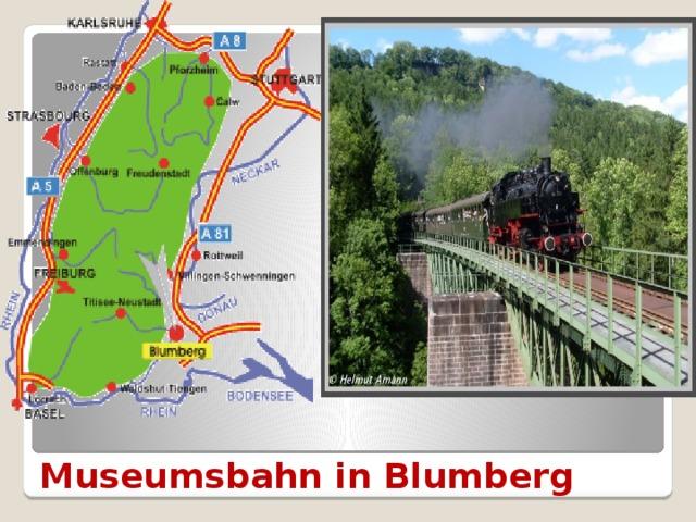 Museumsbahn in Blumberg