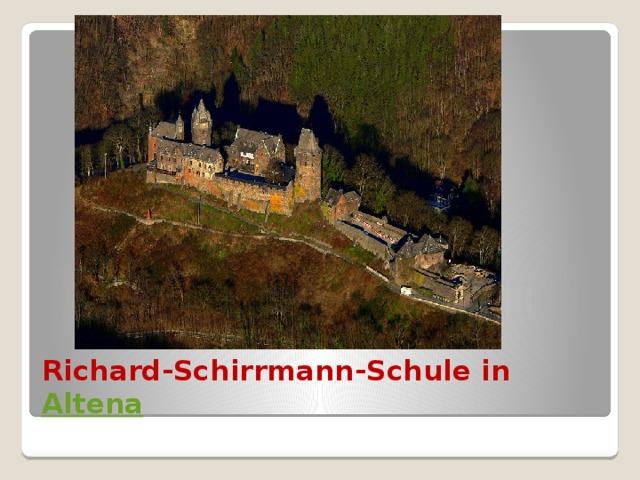 Richard-Schirrmann-Schule in Altena