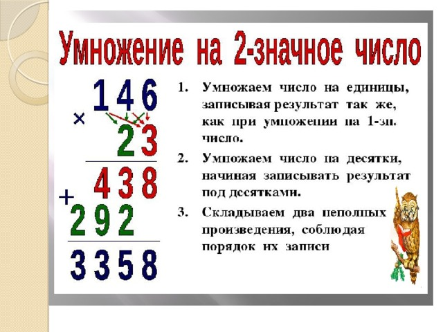 презентация деление на двузначное число