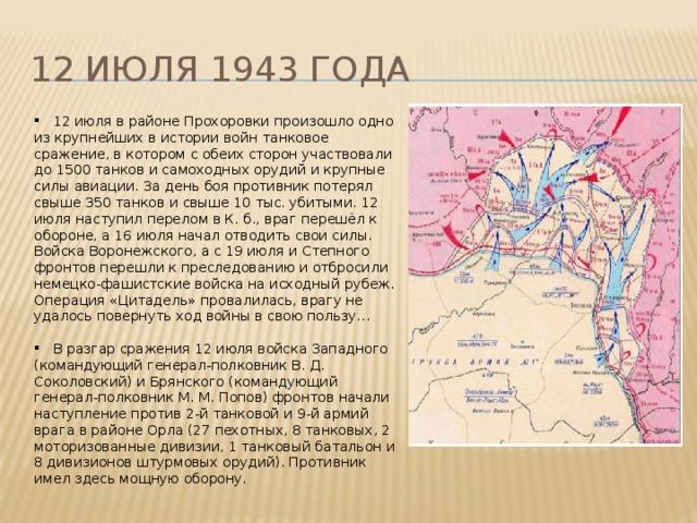 12 июля 1943 года