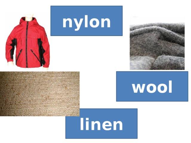 nylon wool linen