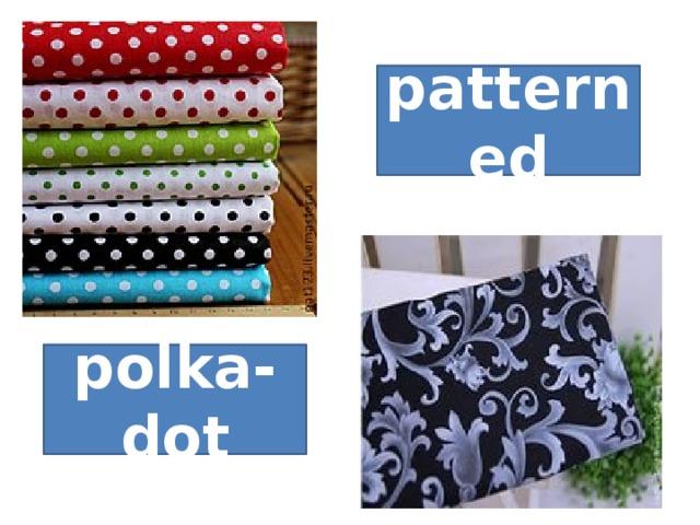 patterned polka-dot