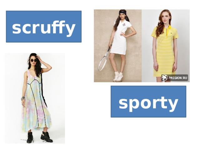 scruffy sporty