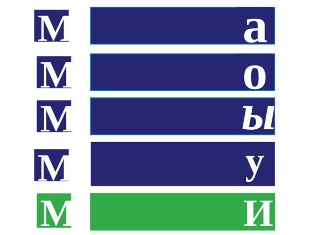 а М о  М М ы  у М М И