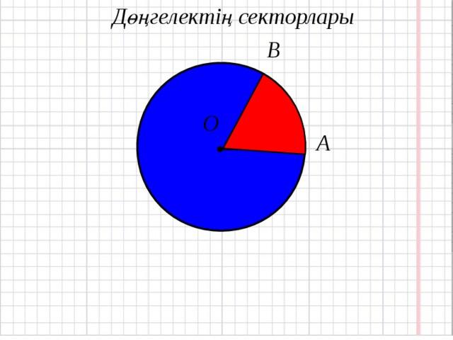 Дөңгелектің секторлары В О А