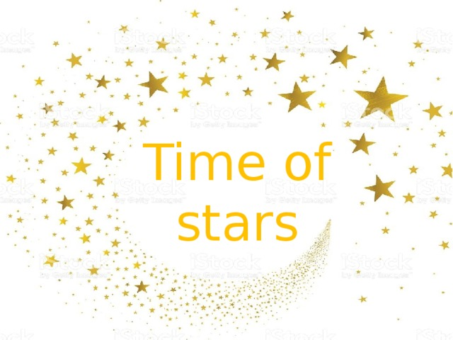 Time of stars