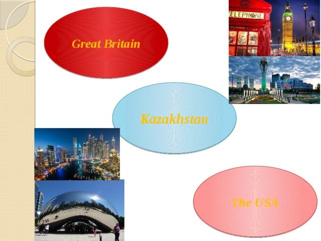 Great Britain Kazakhstan The USA