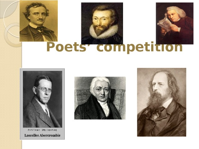 Poets' competition