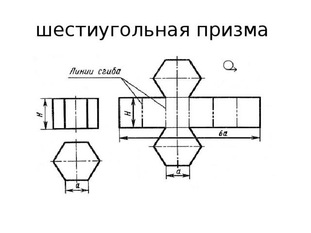 шестиугольная призма