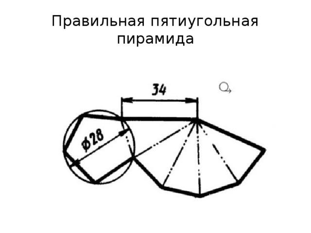 Правильная пятиугольная пирамида