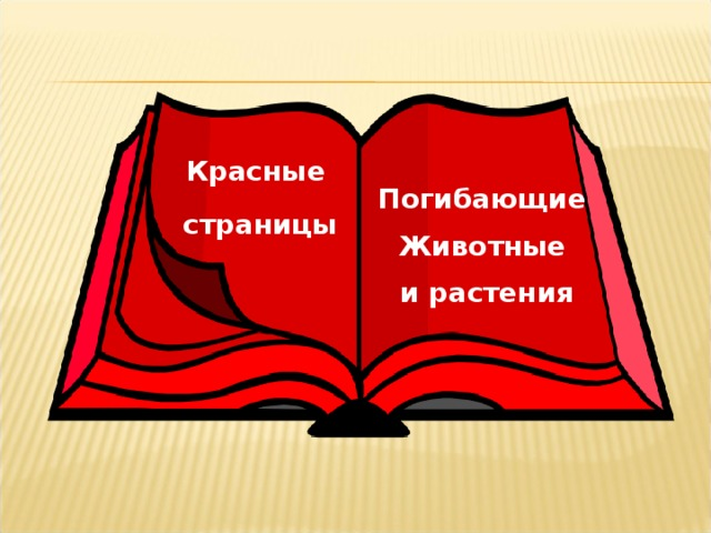 Красные страницы Погибающие Животные и растения