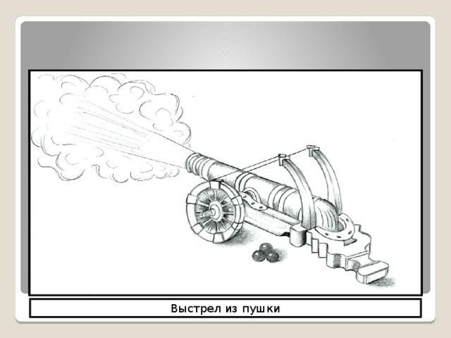 Мир механических явлений Выстрел из пушки
