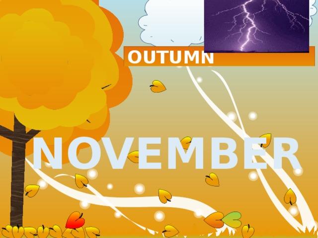 OUTUMN  november