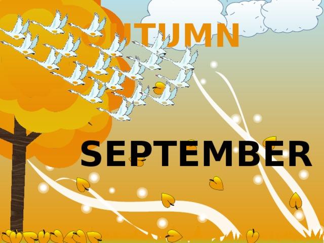 OUTUMN  september