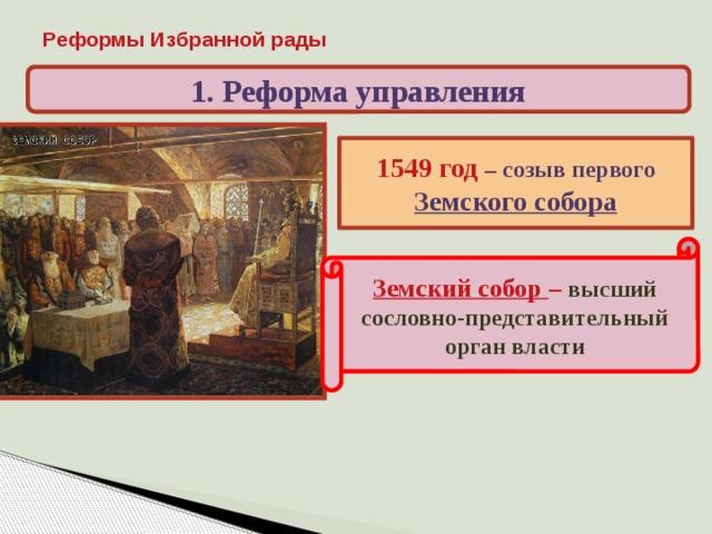 созыв первого собора