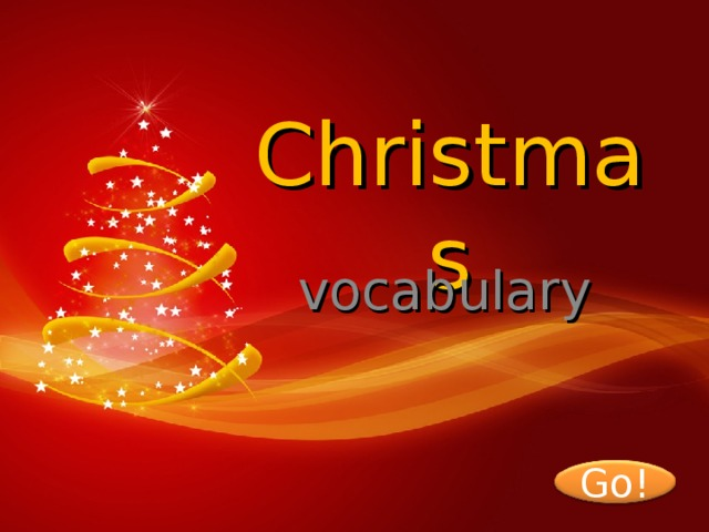 Christmas vocabulary Go! 2
