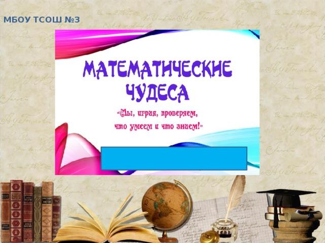 МБОУ ТСОШ №3