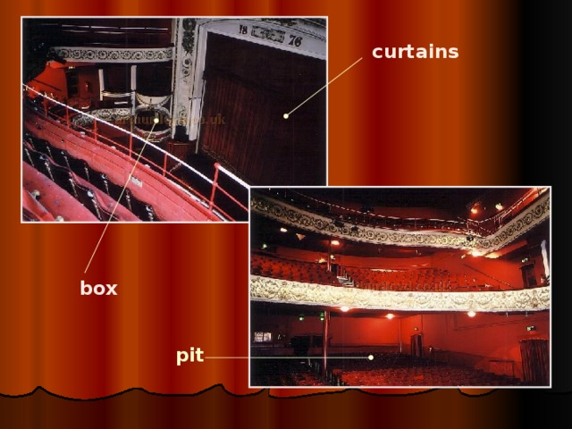 curtains  box pit