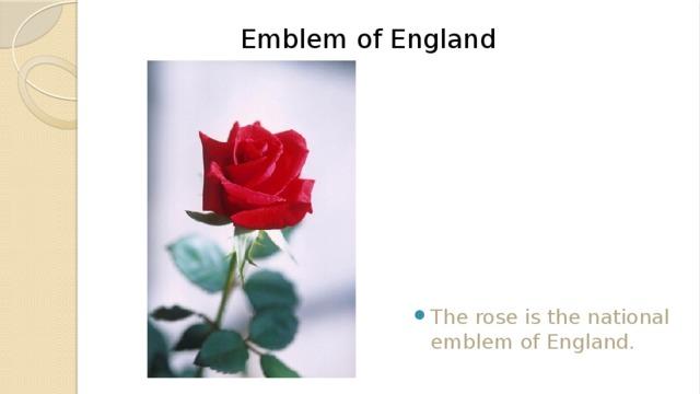 Emblem of England