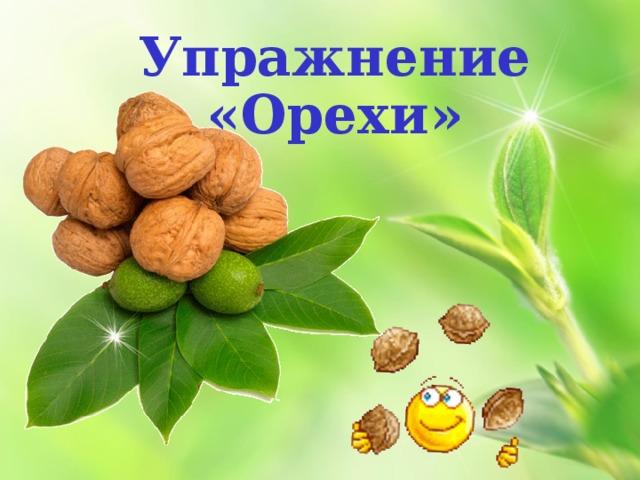 Упражнение «Орехи»