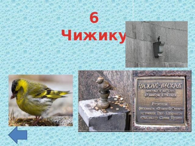 6 Чижику