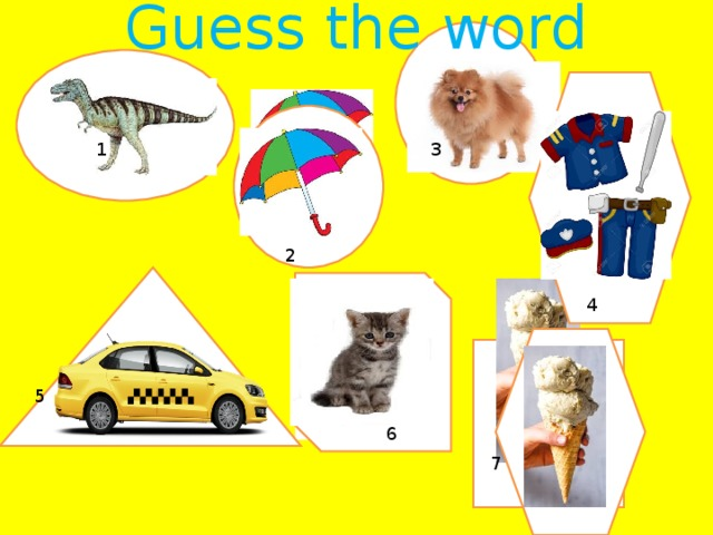 Guess the word 3 2 1 2 4 5 6 7