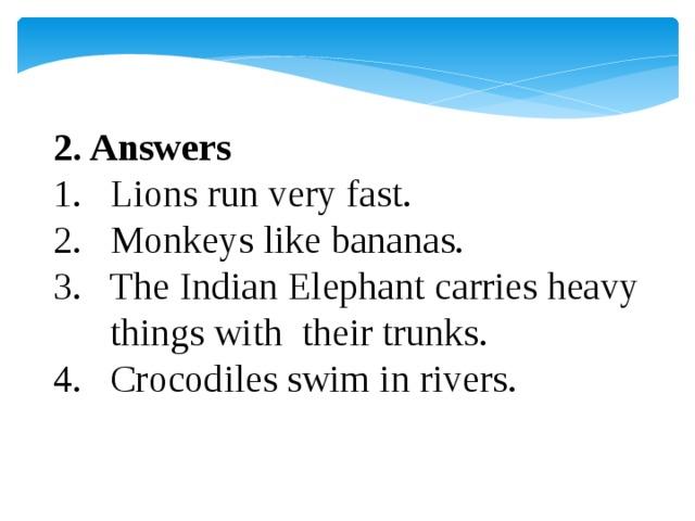2. Answers