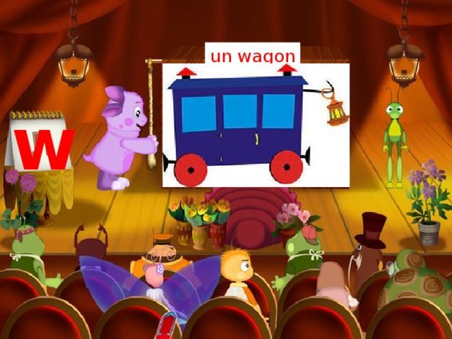 un wagon w
