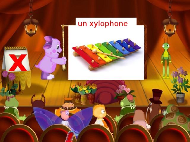 un xylophone x